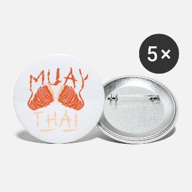 Muay Thai Muay Thai - Small Buttons
