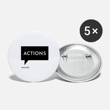 Action Actions words - Small Buttons