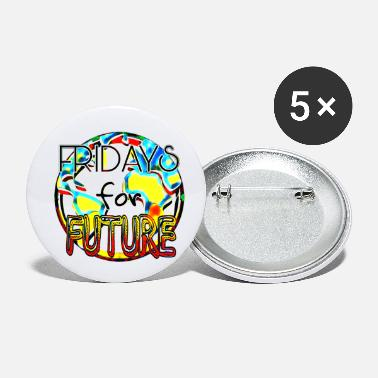 Fridays for Future - Buttons klein