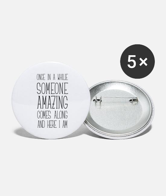 Grand Buttons - Somebody special comes over - Here I am - Small Buttons white