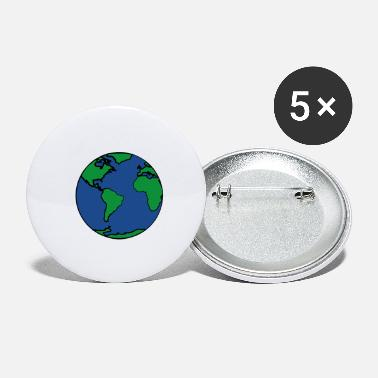 Planet Earth planet Earth - Small Buttons