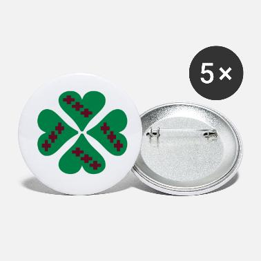 Cross ❤†Holy Cross Clover-Undying Love for Jesus†❤ - Small Buttons