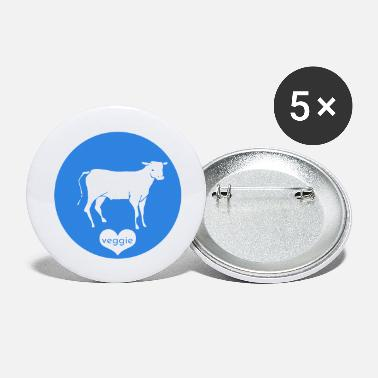 Calf Veggie Blue - Small Buttons