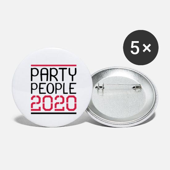 Weekend Bottoni & Spille - Party People 2020 Design - Spille piccole bianco