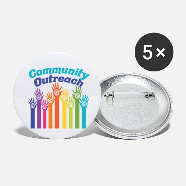 Community Community Outreach - Buttons klein