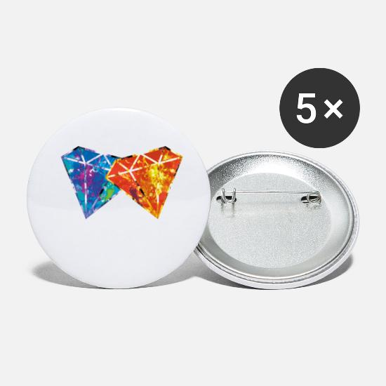 Schmuck Buttons & Anstecker - diamonds paint - Buttons klein Weiß