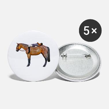 Cheval Sauvage Cavalier - Petits badges