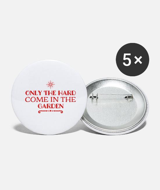 Birthday Buttons - Hardness is rewarded - Small Buttons white