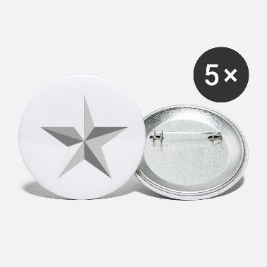 Sters Silver star - Petits badges