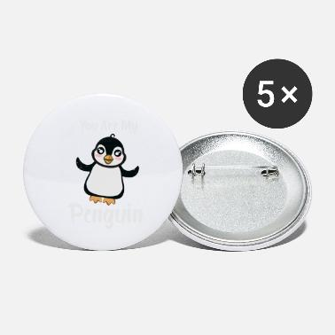 South Pole You Are My Penguin cute penguin gift idea - Small Buttons