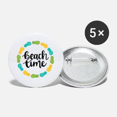 Sea Beach Time - Small Buttons