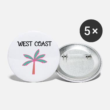 West Coast West coast - Small Buttons