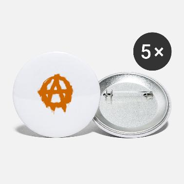 Gangster Anarchie symbool - Buttons klein