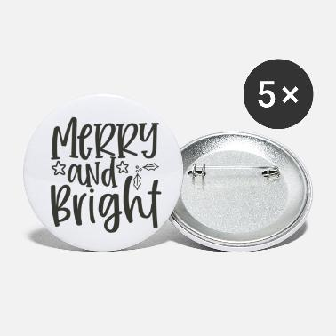 Nikolaus Merry And Bright - Buttons klein