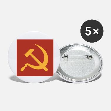 Sickle Hammer and Sickle - Small Buttons
