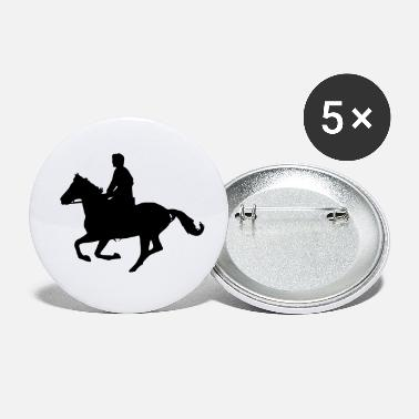 Galop cheval au galop - Petits badges