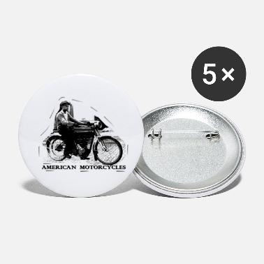 Chopper american_motorcycle - Small Buttons