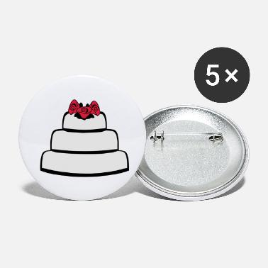 Wedding Cake Wedding Cake - Small Buttons