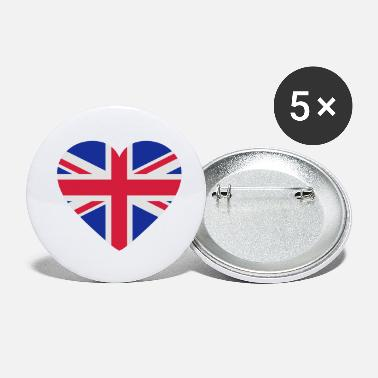 Shape Underwear Heart Britain - Small Buttons