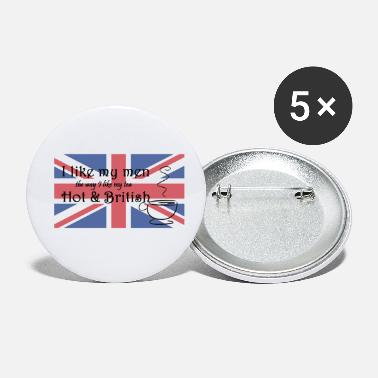 Hot & British - Petits badges