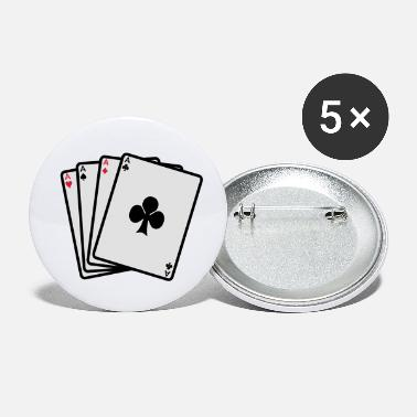 Cards poker cards - Petits badges