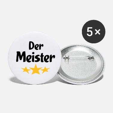 Meister meister - Buttons klein
