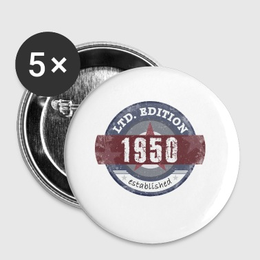 1950s LtdEdition 1950 - Buttons small 25 mm