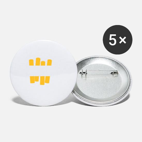 Fate Buttons - If Karma Doesn't Kill You,I Will. - Small Buttons white