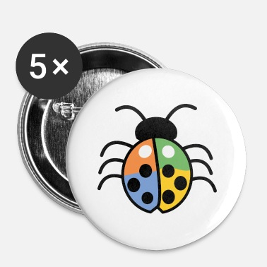 Comics insect comic - Buttons klein 25 mm