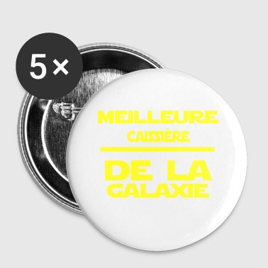 Staff Caissie re - Badge petit 25 mm