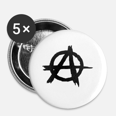 Anarchie anarchie - Badge petit 25 mm