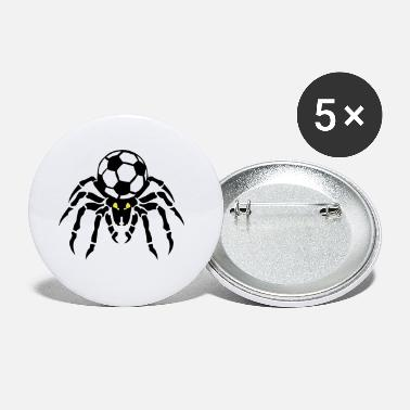 Soccer Ball soccer soccer spider spider spinne ball - Small Buttons