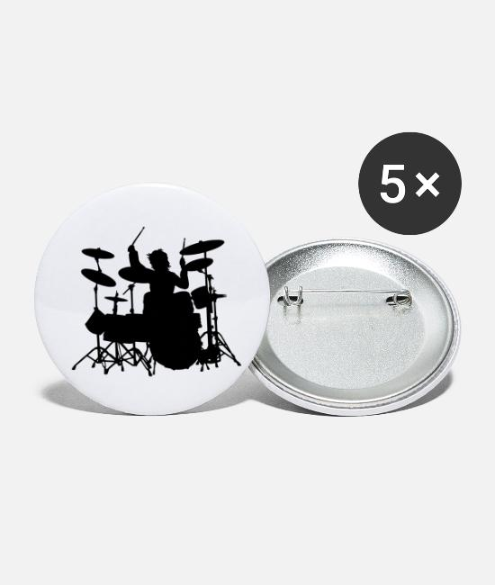 Mapex Buttons - Power Drumming - Small Buttons white