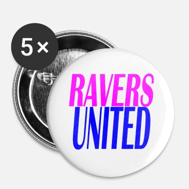 United ravers united - Rintamerkit pienet 25 mm