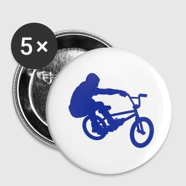 BMX Rider (Bunny Hop) (Vector) - Buttons small 25 mm
