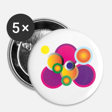 Rond ronde - Badge petit 25 mm