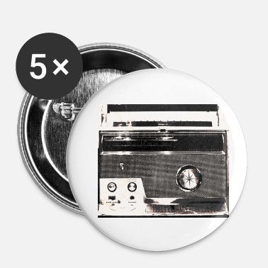 Wear Radio Street Wear Design - Buttons klein 25 mm (5-pack)