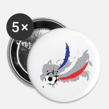Coupe Du Monde De Foot Coupe du Monde de Football Coupe du Monde France - Badge petit 25 mm