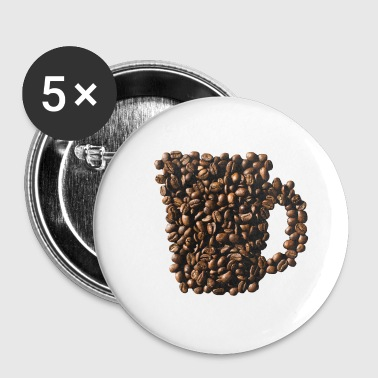 Coffee coffee beans - Buttons small 25 mm