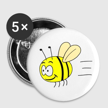 Bumblebee Funny bumblebee - Buttons small 25 mm