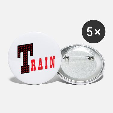 Training Train - Small Buttons