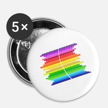 Equalizer RainBow Equalizer - Badge petit 25 mm