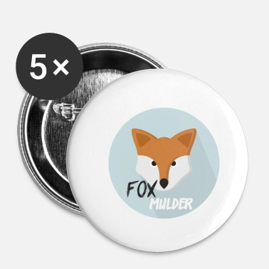 Officialbrands Fox Mulder T-Shirt - Buttons/Badges lille, 25 mm