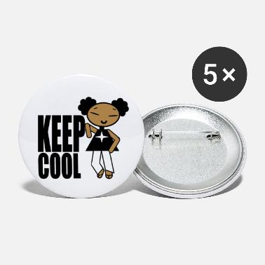 Petitefille KEEP COOL - Petits badges