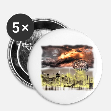 Apocalyps Apocalypse - Buttons klein 25 mm (5-pack)