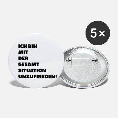 Overall situation dissatisfied Saying gift Funny - Small Buttons