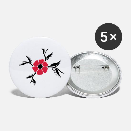 Chic Buttons - Blume - Small Buttons white