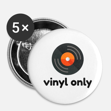 Collections Vinyl Only DJ Collection - Buttons klein 25 mm (5er Pack)