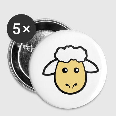 Mouton Mouton mouton - Badge petit 25 mm