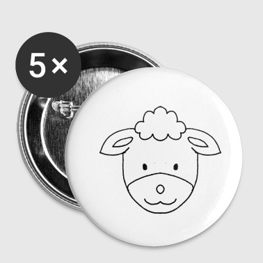 Mouton Mouton - mouton - Badge petit 25 mm